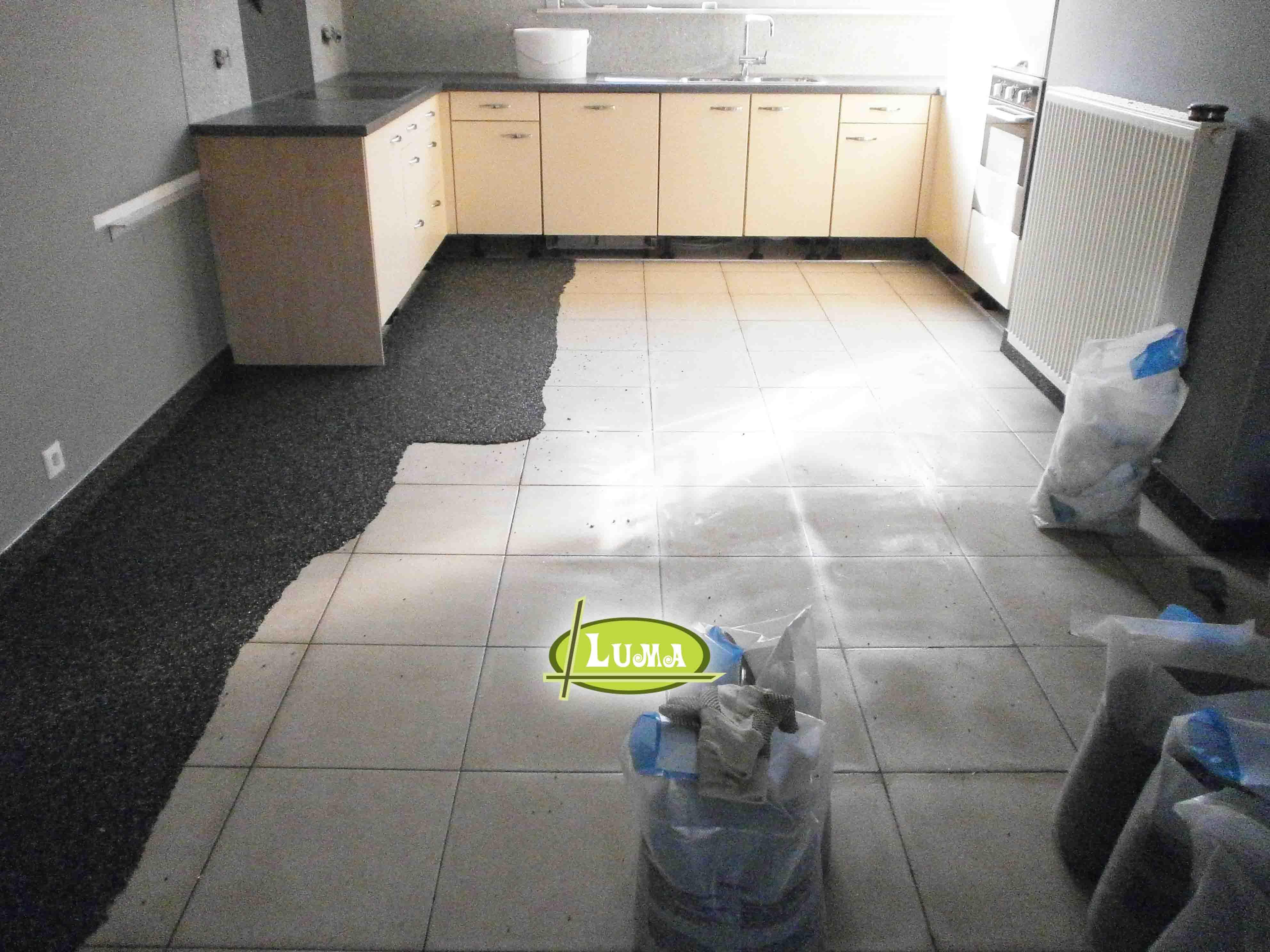 Een vloer renoveren met epoxy renovatie van uw vloer zonder