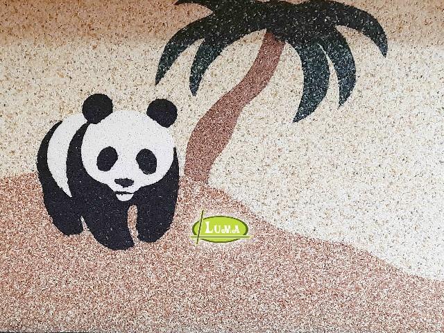 Epoxy Patroon Panda
