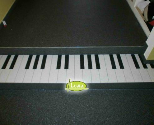 Epoxy Patroon Piano
